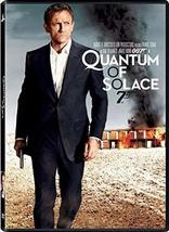 Quantum of Solace 007 James Bond DVD