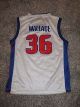 Rasheed Wallace, Detroit Pistons Jersey by Reebok, Youth Medium, White - €13,27 EUR
