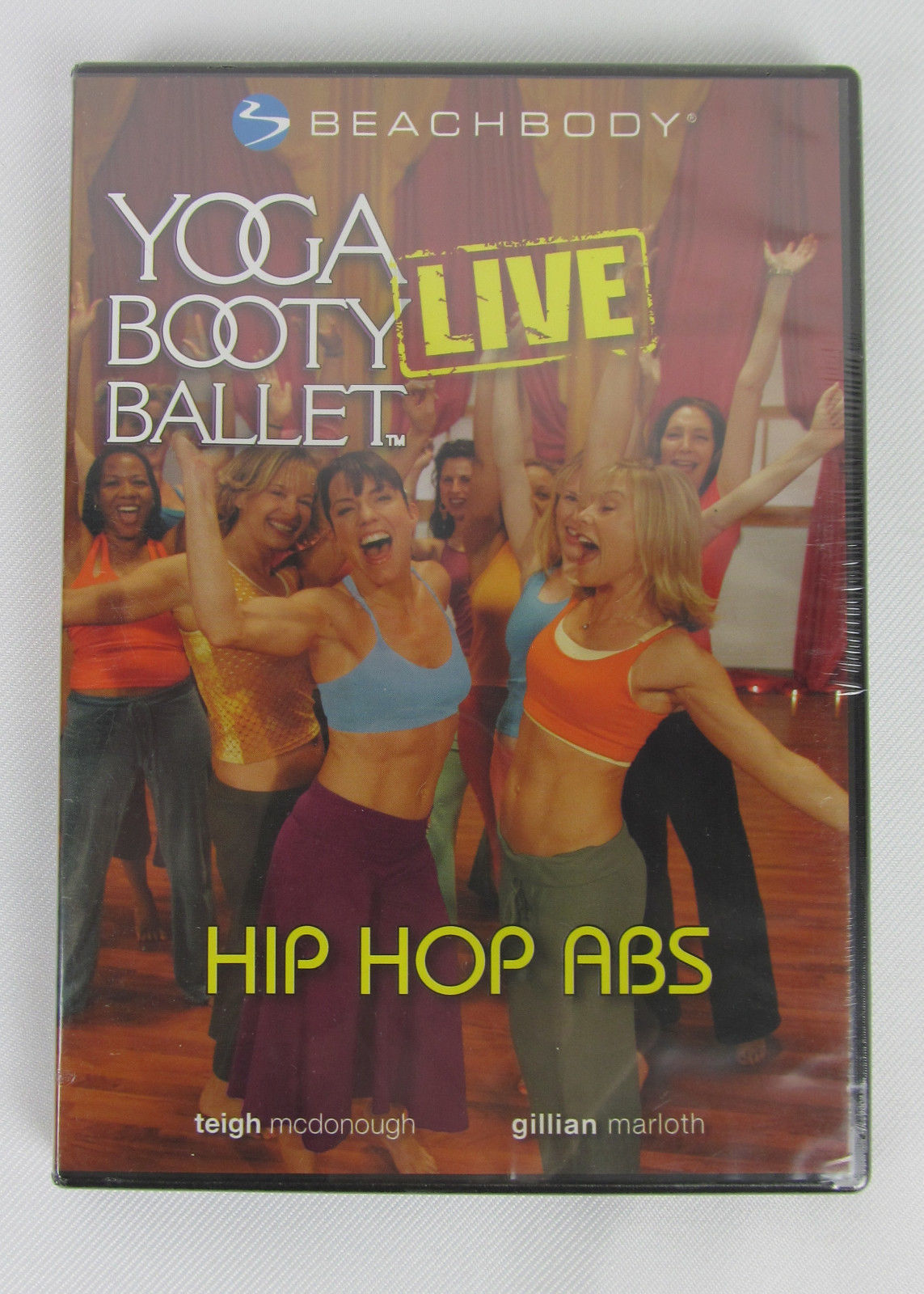 Primary image for NEW Yoga Booty Ballet Live Hip Hop Abs Beachbody DVD Region 1 Sealed