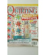 American Patchwork & Quilting Better Homes & Gardens  Issue 135 August 2015 - $6.92
