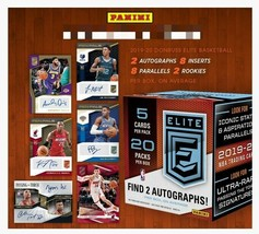 2019-20 Panini Elite Basketball Hobby Box  - $724.99