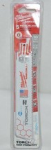 Milwaukee 48004712 Sawzall Blade 5 Pack Metal Blades New In Package - $18.95