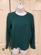 St Johns Bay Womens Long sleeve classicT-Shirt Medium - $5.45