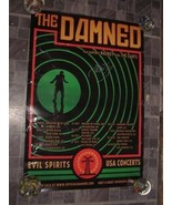 Poster The Damned 2018 Tour Poster Radkey The Darts Autographedy Monty O... - $26.99