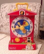 Fisher Price Music Box Teaching Clock - Retro Design 2009, Family Favorite - $14.25