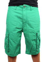 Levi's Men's Premium Cotton Cargo Shorts Original Relaxed Fit Green 124630032 image 2