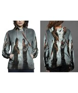 The Walking Dead Season 8 Poster HOODIE ZIPPER FULLPRINT WOMEN - $51.99+