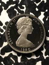 1980 New Zealand 5 Cents Lot#X3419 Proof! - $5.00