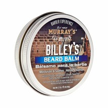 Murray's Billey's Beard Balm Moisturizes Soothes Hair w/ Coconut & Argan... - $8.86