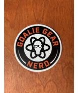 Goalie Gear Nerd Stickers - $3.99