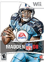 Madden NFL 08 (Nintendo Wii, 2007) - $1.48