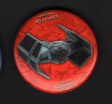 Hallmark 2017 SDCC San Diego Comic Con Exclusive Button Pin Star Wars VADER TIE - $7.91