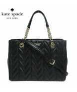 KATE SPADE MEENA BRIAR LANE QUILTED MEDIUM CONVERTIBLE SATCHEL MSRP 459 ... - $168.29