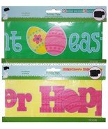 EASTER* 15ft Party/Warning HOLIDAY TAPE For Egg Hunt NON-ADHESIVE *YOU C... - $2.69