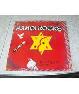 12 Inch Black Vinyl Record Hanoi Rocks Rock'n'Roll Divorce - $29.99