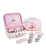 Lucy Locket Fairy Tale Tin Tea Set & Carry Case Toy 14 Piece Kids Tea Se... - $19.61