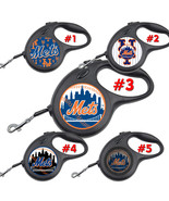 New York Mets NY Retractable Dog Leash tangle free upto 110 lb pet leash... - $22.30+