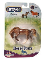 Breyer Stablemates Horse Crazy: Mustang Figurine New in Package - $8.88