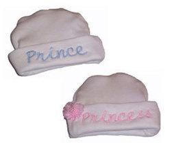 Preemie & Newborn Prince & Princess Hats - $18.00