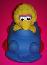 Sesame Street Big Bird in Blue Car by Tyco Really Rolls - $11.99