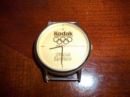 Kodak 100th anniversary Olympics sponsorship watch, vintage 1980s - $12.00