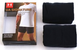 Under Armour Black Short Sleeve Crew Neck Tee Shirt 2 Pack New in Packag... - $29.99