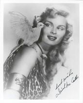 """Irish McCalla (d. 2002) Signed Autographed """"Sheena"""" Glossy 8x10 Photo - $29.99"""