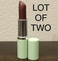 LOT OF TWO NEW! Clinique Long Last Rock Violet Lipstick G9 Full Size 0.1... - $39.90