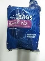 Vacuum Cleaner Bags Hoover Y & Z - $5.29