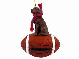 Chesapeake Bay Retriever Football Ornament - $17.99