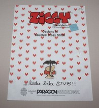 Ziggy Looks Like Love Counted Cross Stitch Pattern Booklet 5075 Paragon - $7.43