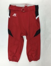 Russell Athletic Blitz Performance Football Pant Men's Large True Red F6... - $12.86