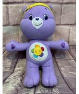 """Care Bear Harmony Purple With Flower on Belly By Nanco 14"""" Plush - $12.34"""