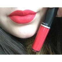 MAC Retro Matte Liquid Lipcolour Lip Gloss RED JADE Bright Sexy Red FS NIB - $13.63