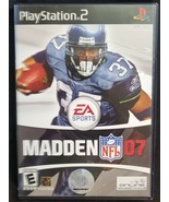 N) Madden NFL 2007 Football (Sony PlayStation 2, 2006) Video Game - £3.66 GBP