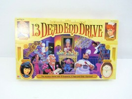 13 Dead End Drive Board Game 1993 Milton Bradley Complete Family Mystery... - $19.75