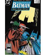 Batman Comic Book #435, DC Comics 1989 VERY FINE+ - $3.50