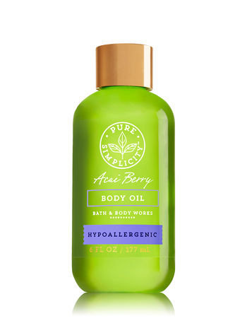 Bath & Body Works ACAI BERRY Body Oil