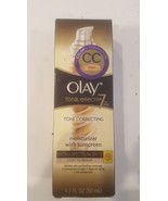 Olay total effects 7 in one tone correcting moisturizer SPF 15 1.7 ounces - $14.37
