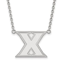 925 Sterling Silver Laser-cut Xavier University... - $77.63