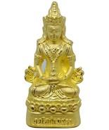Thailand Amulet Pra Bodhisattya Awalokitesuan Wealth,Rich,Lucky & Good B... - $48.88