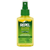 REPEL Plant-Based Lemon Eucalyptus Insect Repellent, Pump Spray, 4-Ounce - $4.96