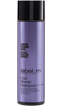 label.m Cool Blonde Shampoo, 250ml/8.45oz