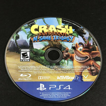 Crash Bandicoot: N. Sane Trilogy (Sony PlayStation 4, PS4, 2017) *DISC ONLY* - $16.98