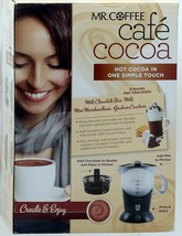 Mr Coffee Cafe Cocoa Hot Chocolate Maker BVMC-HC5  w/Recipes New Factory... - $140.24
