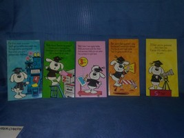 AMERICAN GREETINGS 5 Day Get Well Cheer Cards New VTG 70's New Riddle Humor - $34.65