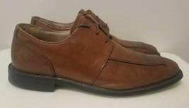 Men's Florsheim Brown Leather Pointed Toe Lace Up Derby Dress Shoes Size 10 D - $26.18