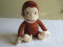 Curious George Plush Tickle & Giggle Laughing Monkey Marvel Electric 200... - $19.99