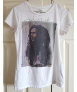 T-Shirt Bob Marley Reggae Large White Graphic 100% Cotton Made In Guatemala - $14.99