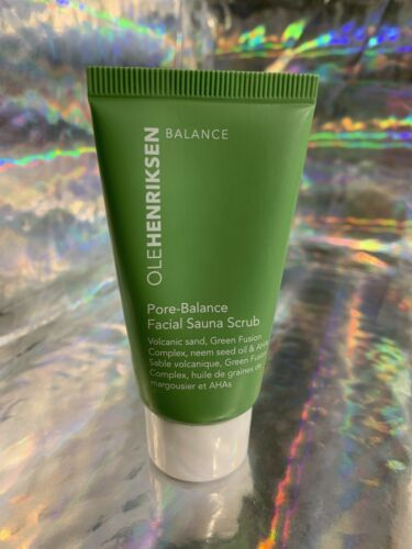 One (1) OLE Henriksen 1oz. Pore Balance Facial Sauna Scrub Refine Pores